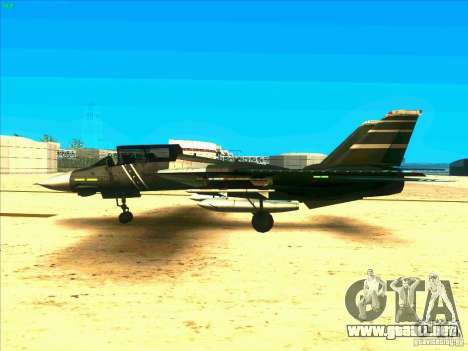 F-14 Tomcat Schnee para GTA San Andreas left