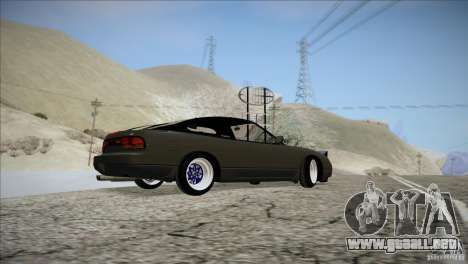 Nissan 240SX S13 para visión interna GTA San Andreas