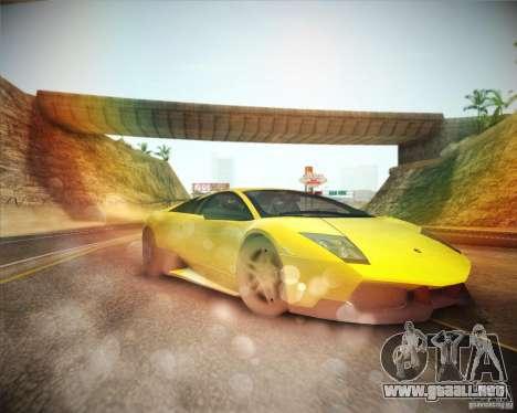 ENBSeries by ibilnaz v 2.0 para GTA San Andreas sucesivamente de pantalla