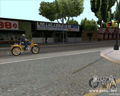 Versión de servicios de la ciudad 2 para GTA San Andreas tercera pantalla
