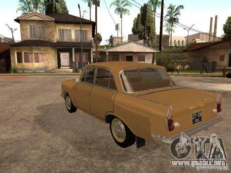 Moskvitch 408 Elite para GTA San Andreas vista posterior izquierda