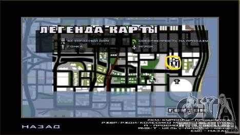 Compra de la propia base para GTA San Andreas sexta pantalla