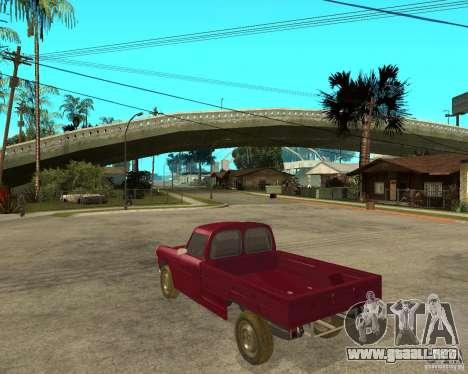 Peugeot 404 UXD para GTA San Andreas left