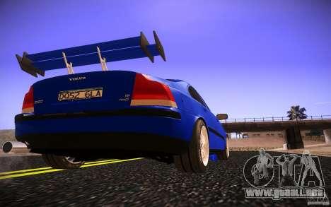 Volvo S 60R para la vista superior GTA San Andreas