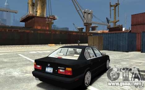 BMW 540i E34 v3.0 para GTA 4 visión correcta
