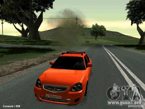 LADA 2170 102-RUS para GTA San Andreas