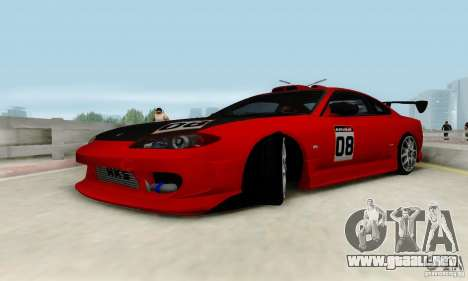 Nissan Silvia S15 Tunable para el motor de GTA San Andreas