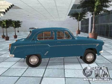 Moskvich 403 para la visión correcta GTA San Andreas