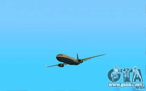 Boeing 737-800 para GTA San Andreas left