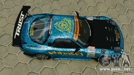 Mazda RX-7 RE-Amemiya para GTA 4 visión correcta