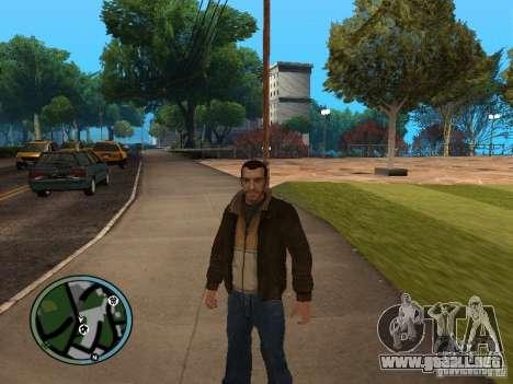 Nico Bellic para GTA San Andreas