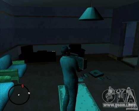 Ir a cualquier casa para GTA San Andreas sexta pantalla