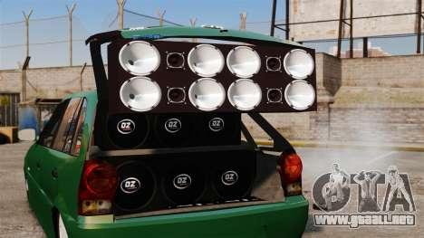 Volkswagen Gol G4 Edit para GTA 4 vista lateral