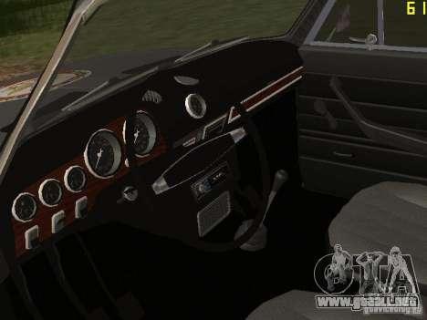 VAZ 21063 académico para GTA San Andreas vista hacia atrás