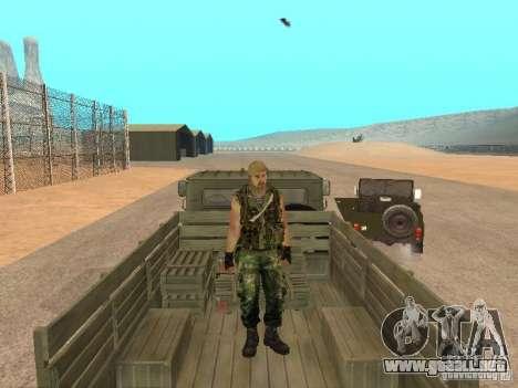Comando ruso para GTA San Andreas quinta pantalla