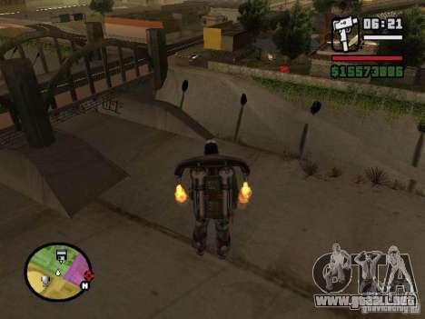 El agua de forma predeterminada para GTA San Andreas segunda pantalla