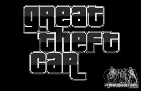 Great Theft Car V1.1 para GTA San Andreas