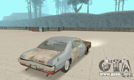Pontiac LeMans 1970 Scrap Yard Edition para GTA San Andreas left