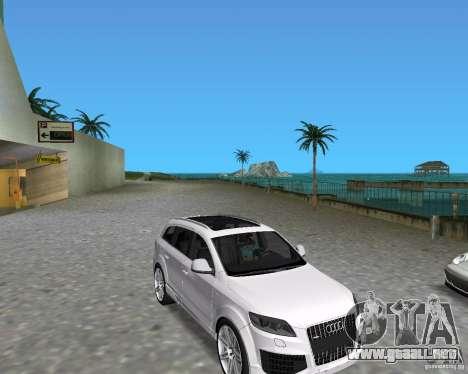 Audi Q7 v12 para GTA Vice City