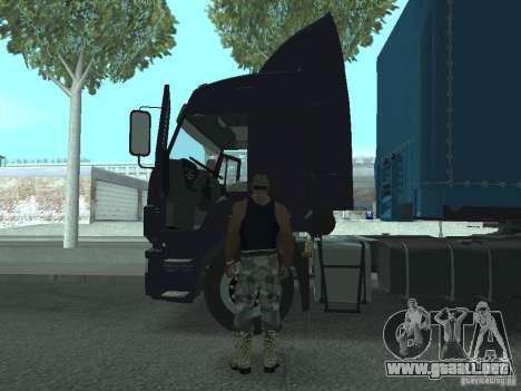 Tablero de instrumentos activos v.3.0 para GTA San Andreas sucesivamente de pantalla