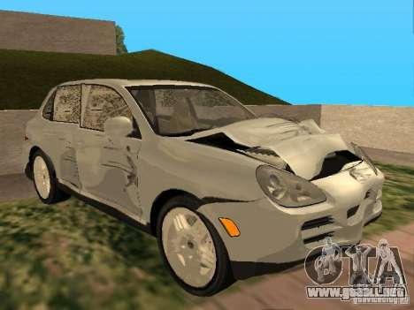 Porsche Cayenne para visión interna GTA San Andreas