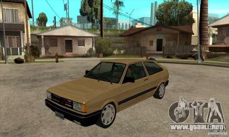 VW Gol GL 1.8 1989 para GTA San Andreas