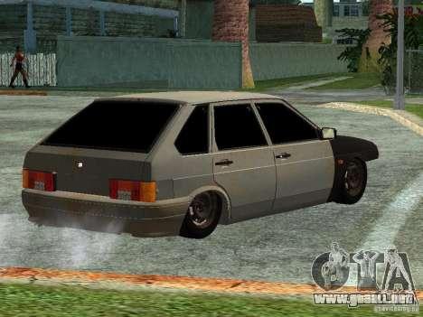 ВАЗ 2114 Hobo para GTA San Andreas left