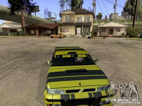 Vinilo para el sultán para GTA San Andreas vista hacia atrás