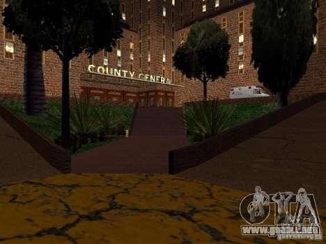 Nuevo hospital de texturas en Los Santos para GTA San Andreas quinta pantalla