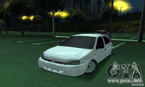 Lada Kalina Hatchback para GTA San Andreas