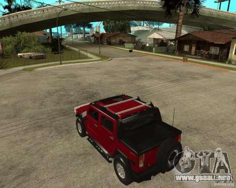 AMG H2 HUMMER SUT para GTA San Andreas left