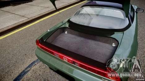 Honda NSX NA2 [Beta] para GTA 4 vista lateral
