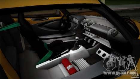 Lotus Exige Track Car para las ruedas de GTA San Andreas