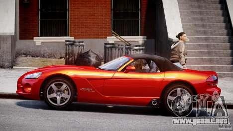 Dodge Viper SRT-10 2003 1.0 para GTA 4 left
