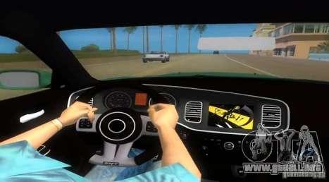 Dodge Charger para GTA Vice City vista lateral izquierdo