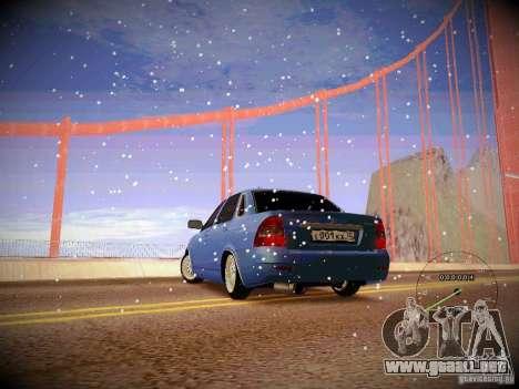 Lada Priora Turbo v2.0 para GTA San Andreas left