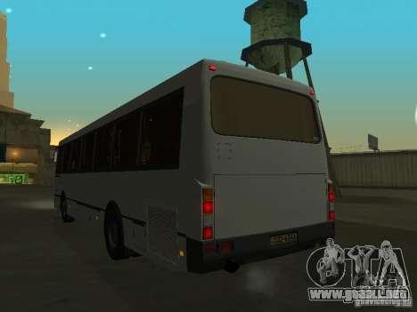 LAZ 52528 para visión interna GTA San Andreas