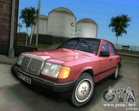 Mercedes-Benz E190 para GTA Vice City
