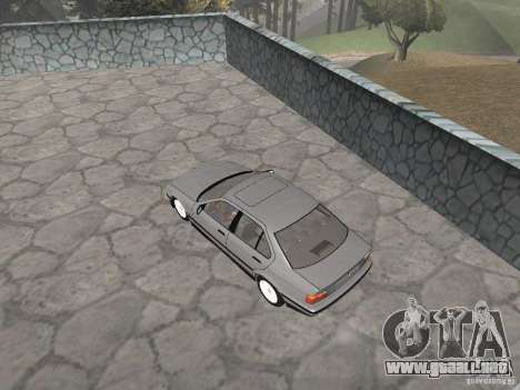BMW 320i para GTA San Andreas vista hacia atrás
