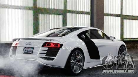 Audi R8 LeMans para GTA 4 visión correcta