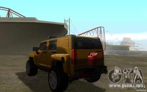 Hummer H3R para GTA San Andreas left