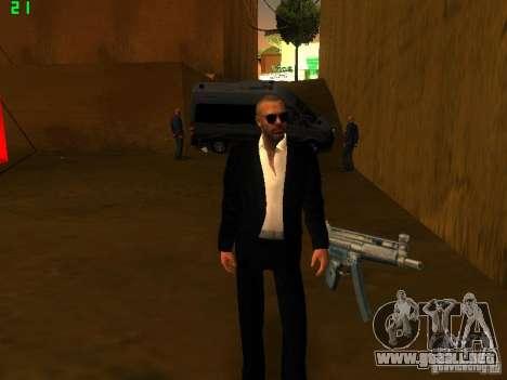 New FBI para GTA San Andreas segunda pantalla