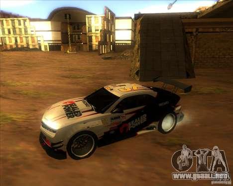 Chevrolet Camaro para visión interna GTA San Andreas