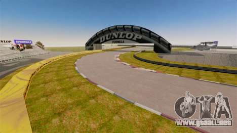 Tsukuba Circuit v3.0 para GTA 4 quinta pantalla