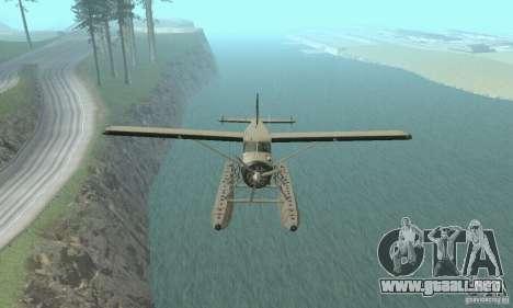 DeHavilland Beaver DHC2 para la visión correcta GTA San Andreas