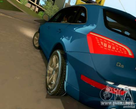 Audi Q5 para vista inferior GTA San Andreas