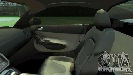 Audi R8 Spyder v10 [EPM] para GTA 4 vista interior