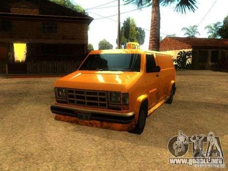 Taxi Burrito para GTA San Andreas left