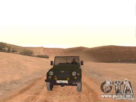 Comando ruso para GTA San Andreas octavo de pantalla