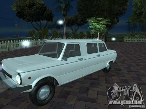ZAZ 968 m Limousine para la vista superior GTA San Andreas
